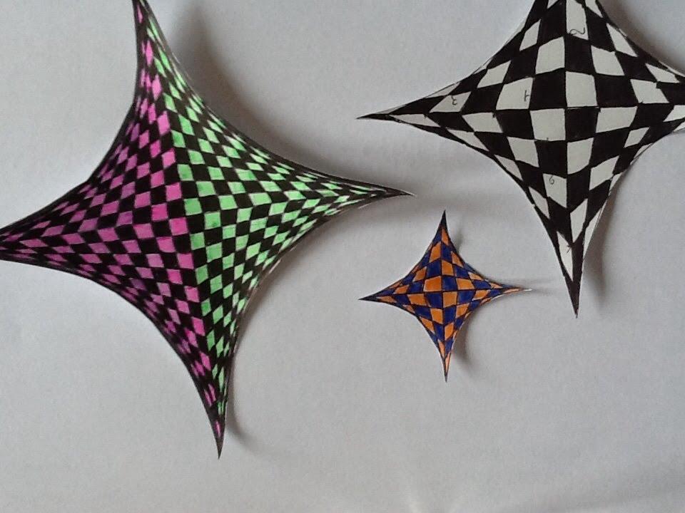 Tutoriel Dessiner Une Illusion D Optique Super Simple