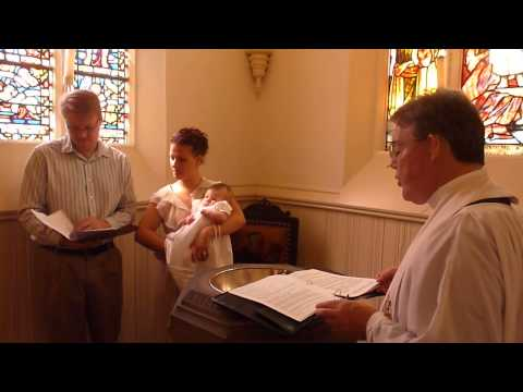 Ella Jane Walker's Baptism