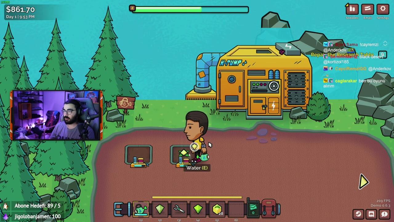Videoyun-Indie Oyunlar#47: Soda Story - Brewing Tycoon Oynuyor