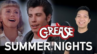 Summer Nights (Danny Part Only - Karaoke) - Grease
