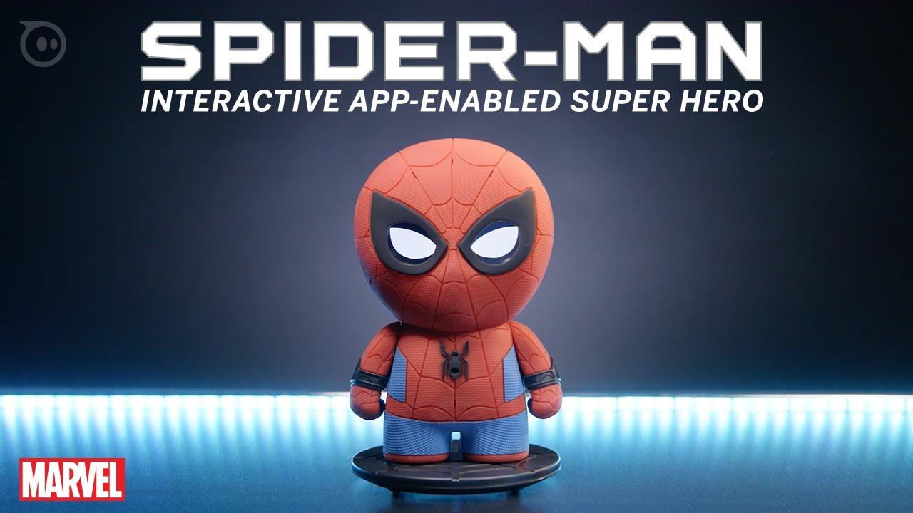 promo code e4dbf 3441b Spider-Man Interactive App-Enabled Super Hero by Sphero