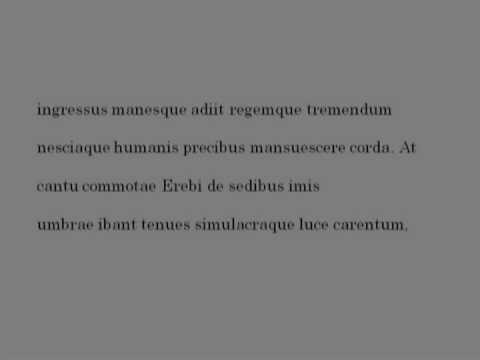 Georgics IV 464 480