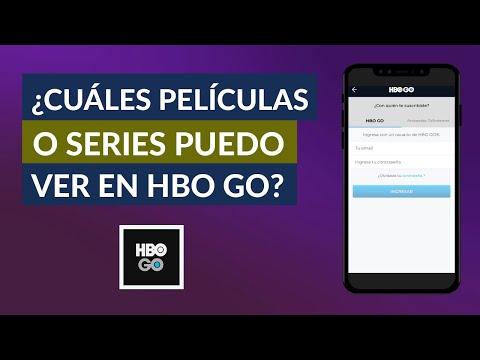 Qué Películas y Series Puedo ver en HBO