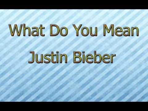 What Do You Mean-Justin Bieber [MNC] [+Descarga-Download]