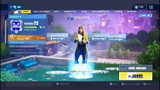 Jai unlock the yellow color of the new skin FORTNITE season 9