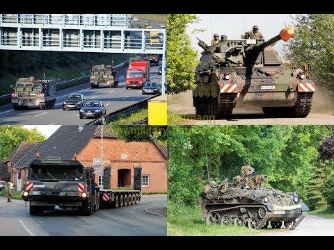 2017 Heidesturm Teil 2/3 - Bundeswehr Manöver der Panzerlehrbrigade 9