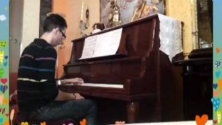 Piano cover Lovely on my hand by matri360- calzedonia 2011