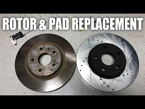 Front+Rear Drill Slot Brake Rotors /& Ceramic Pads For Chevy Equinox GMC Terrain