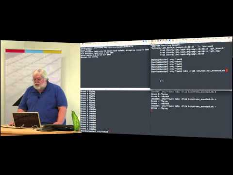 May CincyRB - Jim Weirich: Ruby, threads, events ... and Flying Robots!