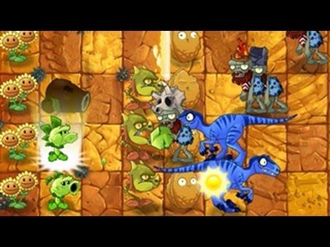 เกมส์พืชปะทะซอมบี้ 2: Jurassic Marsh - Day 2