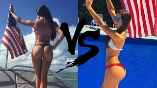 Repeat youtube video Bruna Lima VS Jen Selter  Video | jen selter workout !
