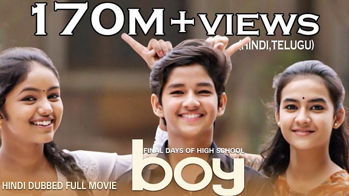 boy movie hindi dubbed  new south movie  high school love story  lakshya sinha  amar viswaraj