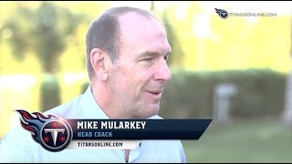 1-on-1 with Titans Head Coach Mike Mularkey