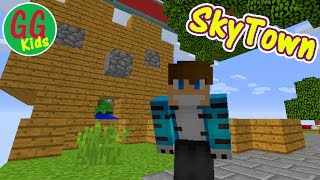 SkyTown - Mob Trap (3) - GGKids - Build a Mob Trap in Minecraft SkyTown
