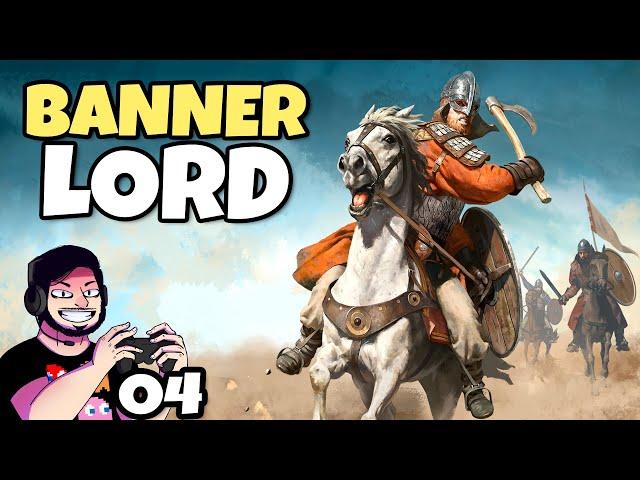 Treta com Lords de 100 Soldados! #04 (Bannerlord) // Gameplay Português