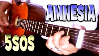 ♪♫ AMNESIA - 5 Seconds Of Summer (5SOS) - Acoustic Guitar Cover & Vocal Harmony