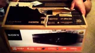 Unboxing Of Sony Receiver 5.2 Model # STRDH550
