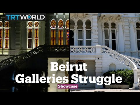 Beirut Galleries Devastated​