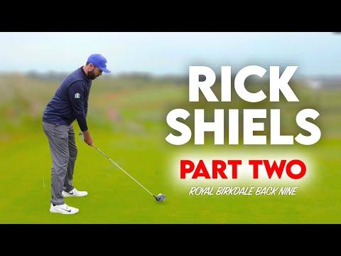 ROYAL BIRKDALE Back Nine Part 2 - Rick Shiels...GOD OF THE GREENS