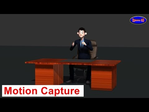 Dialog and Explain Motion Capture Animation by Space 3D