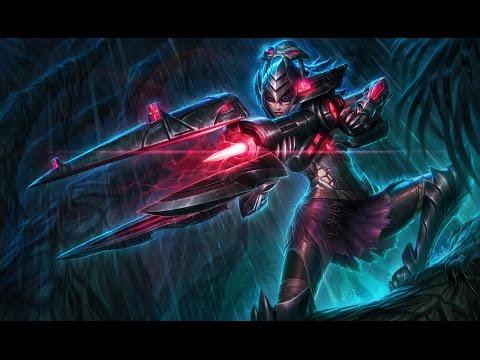 Headhunter Caitlyn Skin Spotlight Gameplay - League of ...