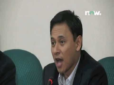 Press Conference - Atty. Miro Quimbo & Rep. Sonny Angara 02-20-12