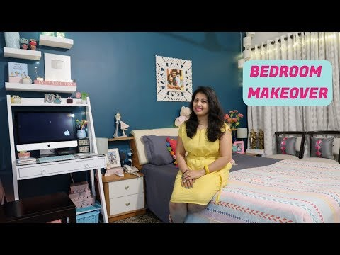 My Master Bedroom Makeover | Indian Small Bedroom Organization & Tour 2018 | Room Decor Ideas