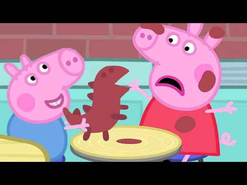 Peppa Pig Full Episodes | Pottery | Cartoons for Children
