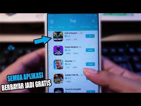 APLIKASI BERBAYAR JADI GRATIS ! 4 Aplikasi Pengganti Playstore Terbaik