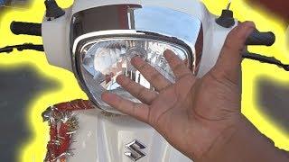 Suzuki Access 125 | (0-60)kmph Test | (60-0)kmph Test | Top Speed | Haldwani |