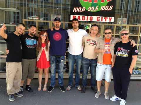 Dubioza Kolektiv-Brijuni (Live 14.6.2013 Radio City , Slovenia Maribor )