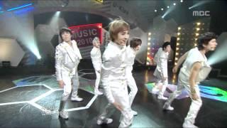 U-Kiss - Bingeul Bingeul, 유키스 - 빙글빙글, Music Core 20100206