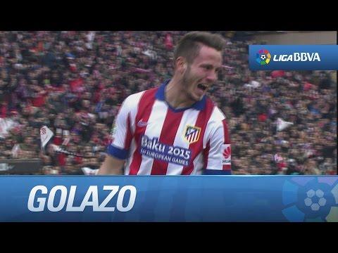 Golazo de chilena de Saúl (2-0) en el Atlético de Madrid - Real Madrid