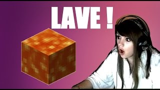A LA RECHERCHE DU DIAMS! Episode 3 - LA LAVE ♦ Best of Chelxie minecraft
