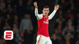 Granit Xhaka should be thankful he's playing for Arsenal - Craig Burley | Premier League