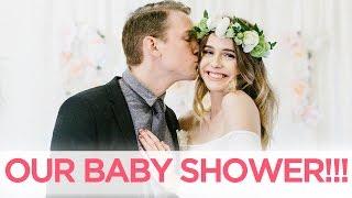 LAST MINUTE BABY SHOWER?! | Acacia & Jairus