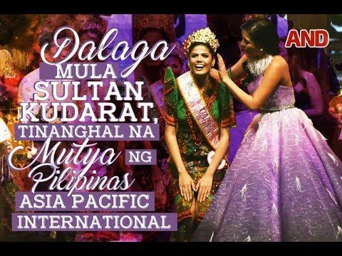 Dalaga mula Sultan Kudarat, tinanghal na Mutya ng Pilipinas-Asia Pacific International