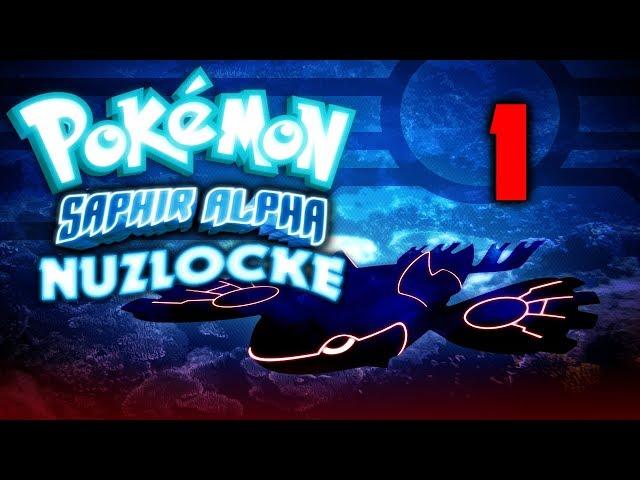 🎮 Pokémon Saphir Alpha (NUZLOCKE) | Ep. 1 | Let's play FR