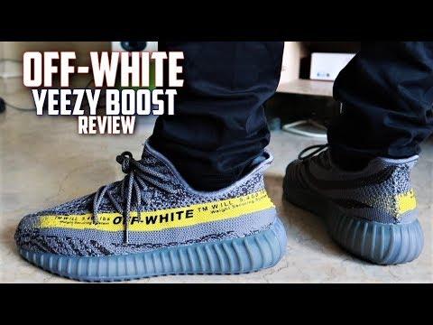 Off-White Adidas Yeezy Boost 350 v2