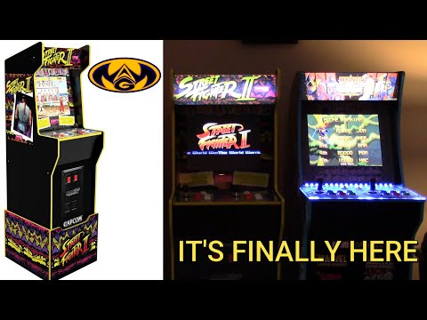 Arcade 1up Capcom Legacy Street Fighter 2 Review from What a Geek