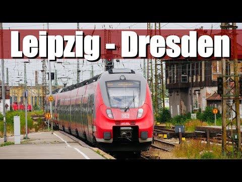 "[Doku] Bahnstrecke: Leipzig - Dresden | RE50 ""Saxonia Express"" (Teil1)"