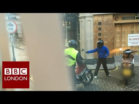 Moped crime in London – BBC London News
