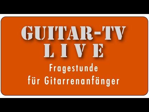 Guitar-TV LIVE • 90. Fragestunde & Blues für Anfänger • 8.8.2020 - 11 h