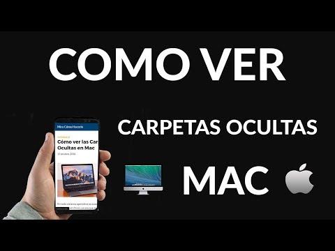 Cómo ver las Carpetas Ocultas en Mac