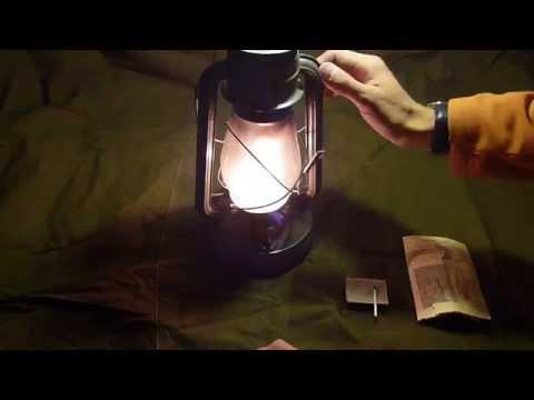 Как пользоваться керосиновой лампой