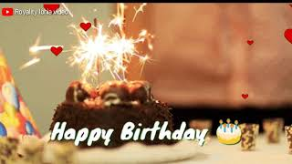 Wish you happy happy birthday song🎂 || Saal bhar mein sabse pyara hota hai ek din|| WhatsApp status