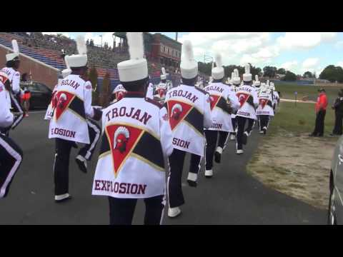 VSU TROJAN EXPLOSION MARCHING BAND MILITARY APPRECIATION DAY 2015
