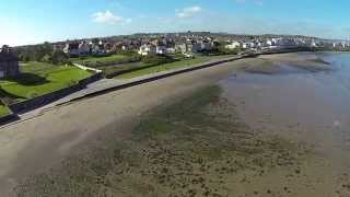 FPV flight Ballyhome beach 2