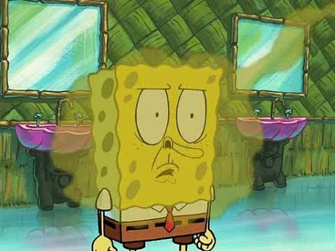 Spongebob stink face