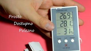 Самый продаваемый термо-гигрометр! Обзор электронного термометра с aliexpress
